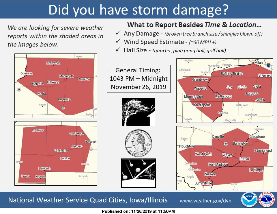 NWS: Storm damage