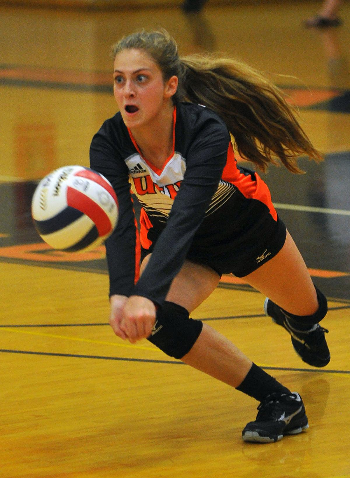 Rock Island at United Township volleyball.