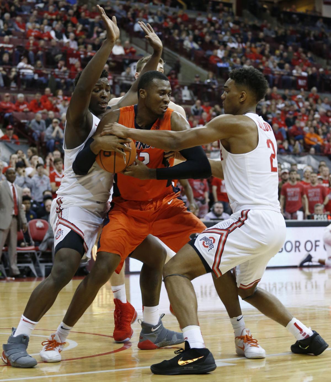 Illinois Ohio St Basketball