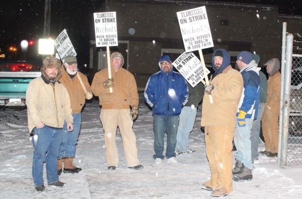 Strike at Nichols Aluminum