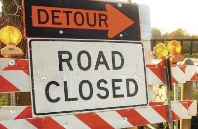 Road Closed, Detour Signs
