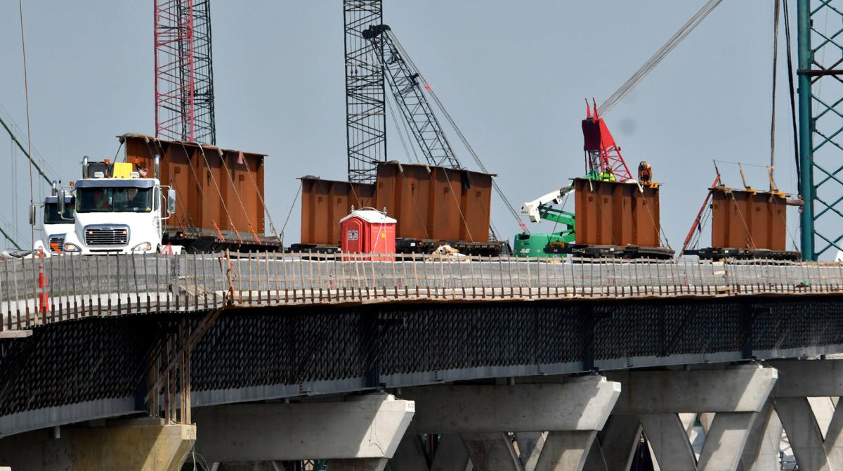 Interstate 74 Bridge Construction Update.