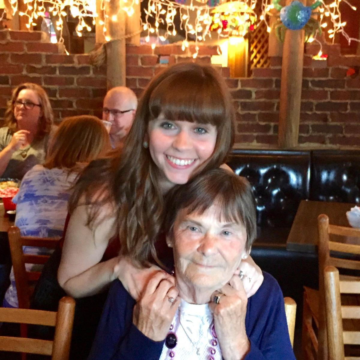 Amanda and Nannie