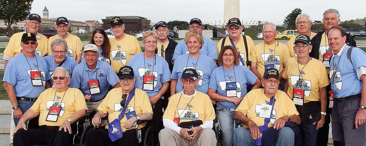 Local vets go on Honor Flight