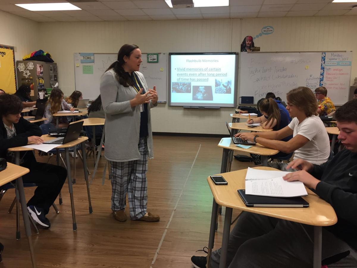 Allison Newman teaches at Davenport North High School
