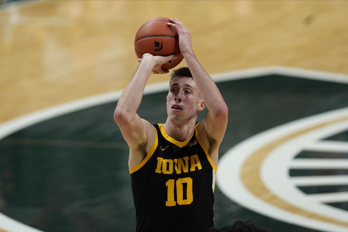 Iowa Michigan St Basketball