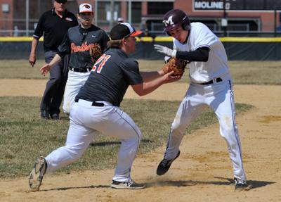 United Township vs Moline baseball