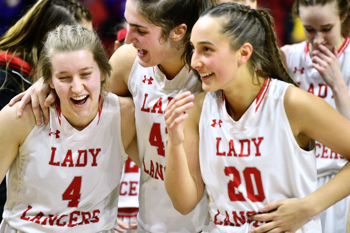 North Scott vs Heelan girls state basketball