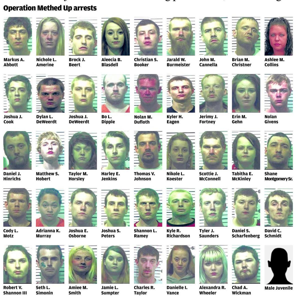Operation Methed Up' nets 46 | Local Crime & Courts