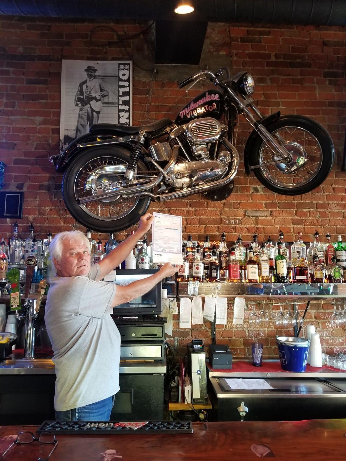 Bill McKinley motorcycle