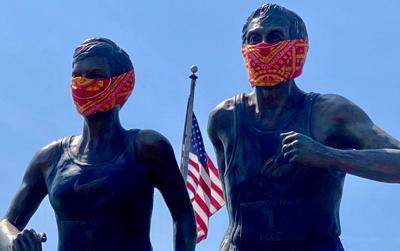 Statue masks