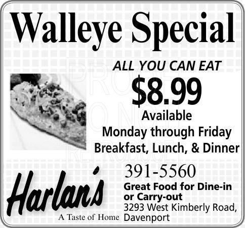 Harlan S Fine Foods Specials