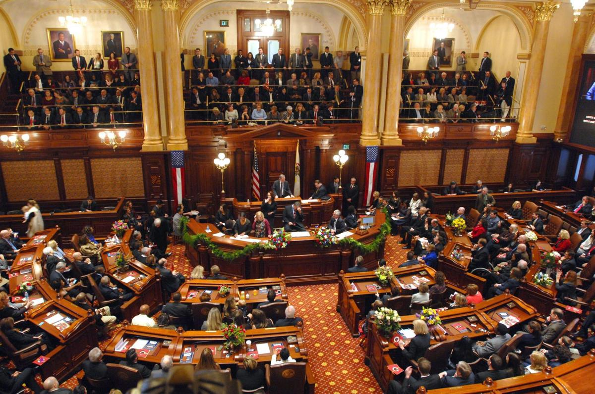 Illinois Legislature opening day