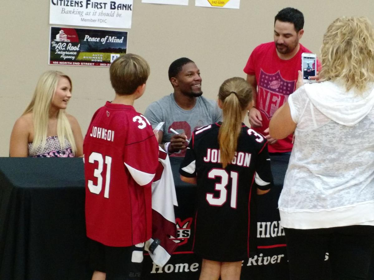 David Johnson signing