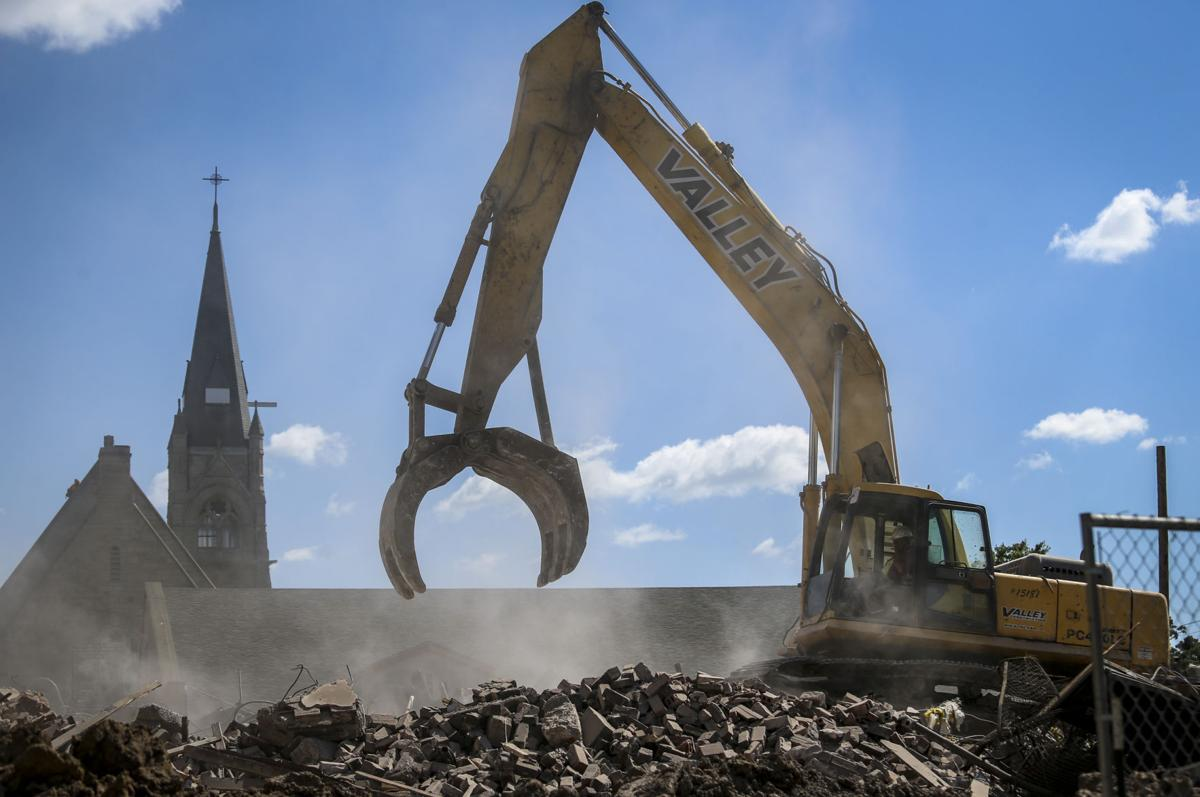 Sacred Heart School coming down