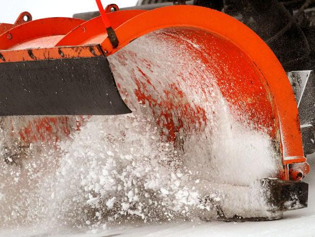 2014 file photo of Davenport snow plow