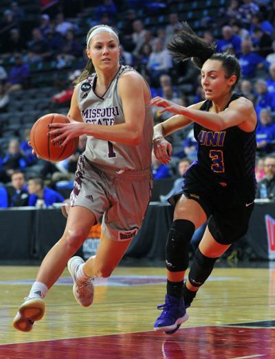 Missouri State vs UNI at the 2019 Missouri Valley Conference Women's Basketball Tournament