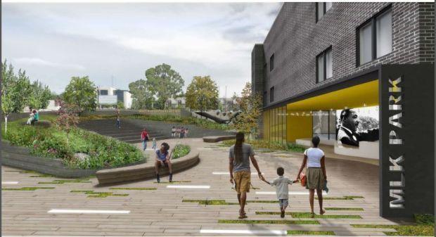 MLK project park