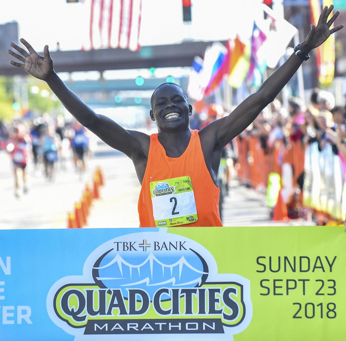 Terer wins 2018 QC Marathon