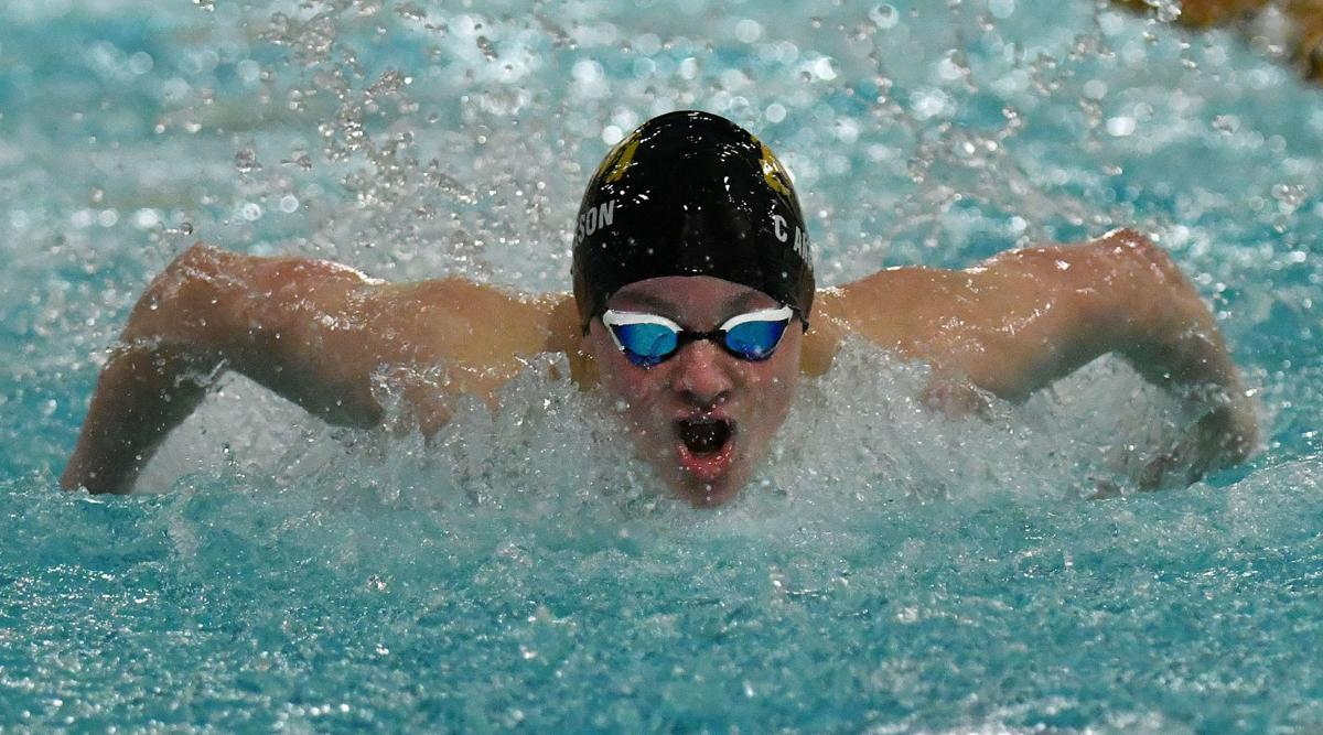 Pleasant Valley at Bettendorf boys swimming