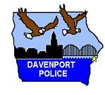 davenport police logo