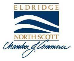 Eldridge North Scott Chamber logo