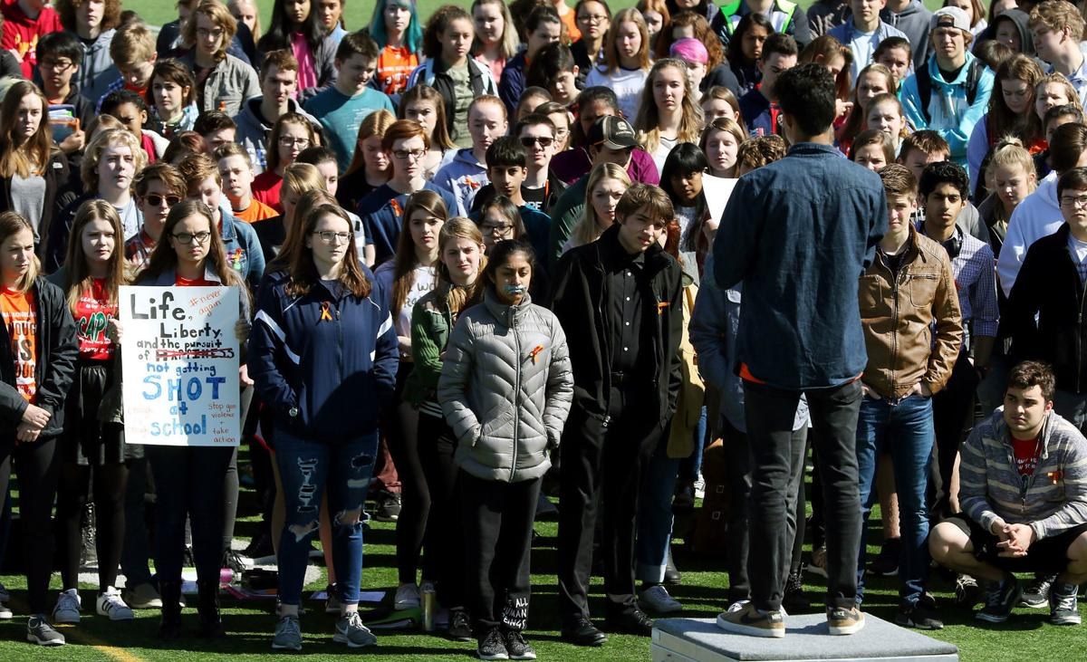 National School Walkout It Could Be Any School It Could