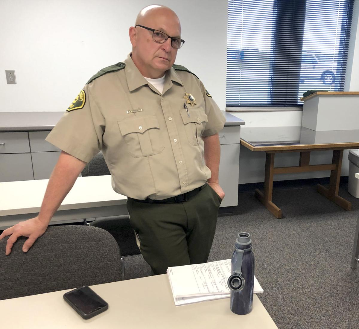 Iowa Sheriff Arrest Ban
