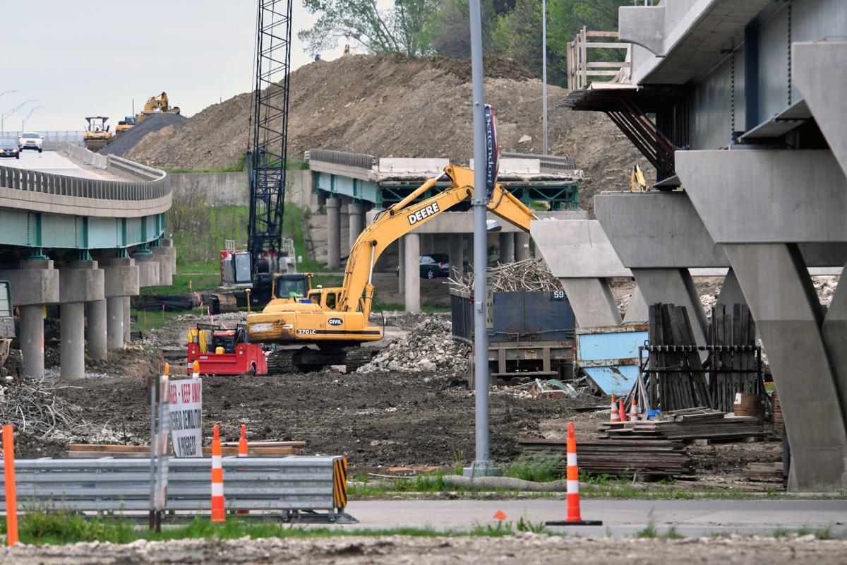 Interstate 74 bridge construction update