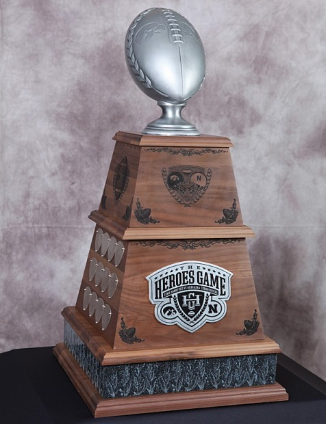 Heroes, trophy revealed for Friday's game | Iowa Hawkeyes ...
