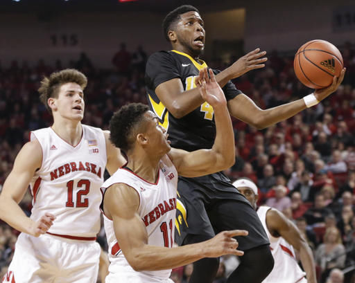 Iowa Nebraska Basketball