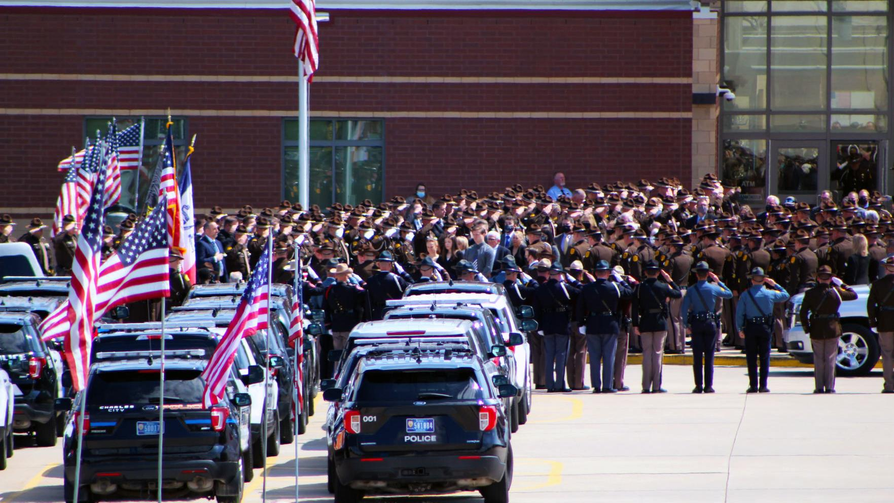 End of watch:  Slain State Patrol Sgt. Jim Smith laid to rest