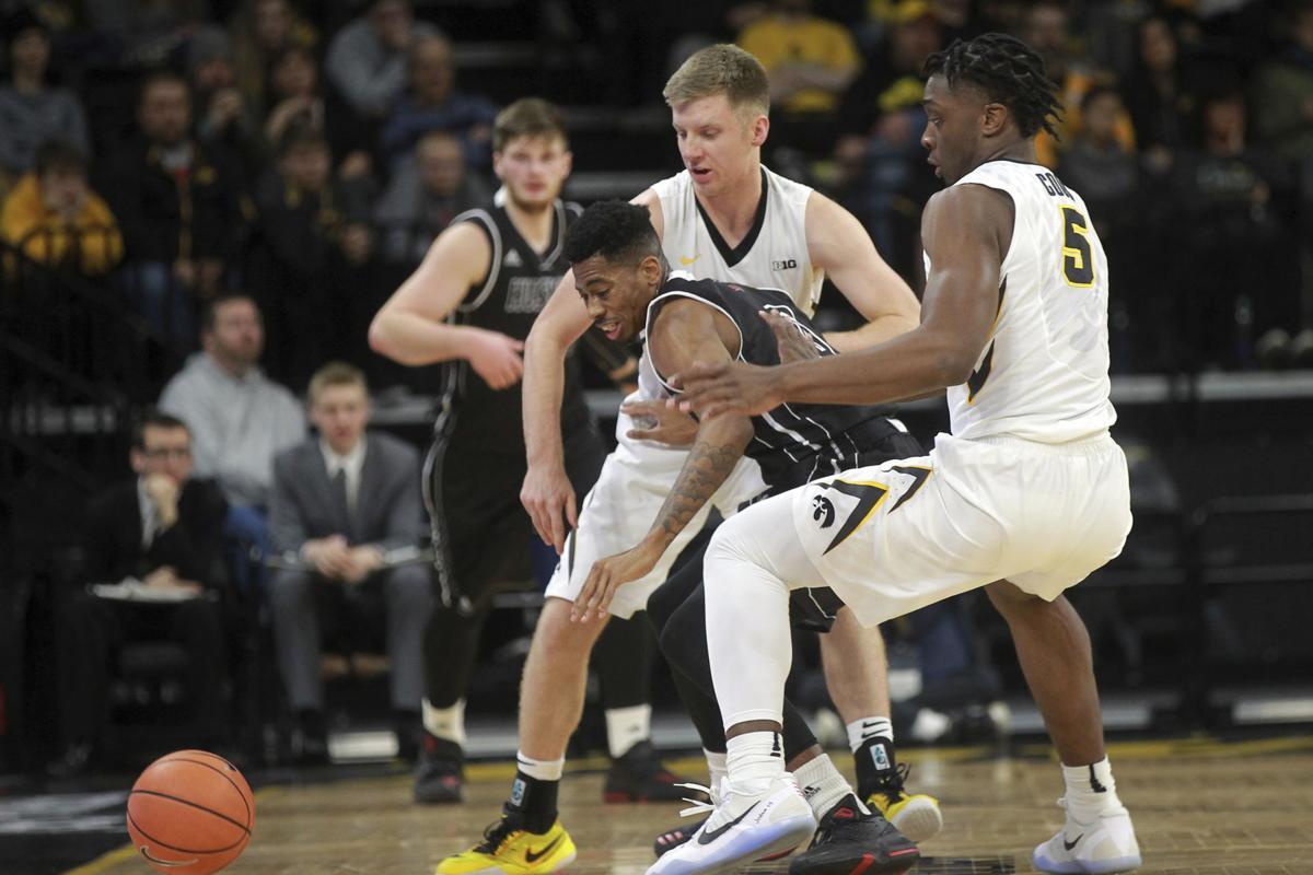 N Illinois Iowa Basketball