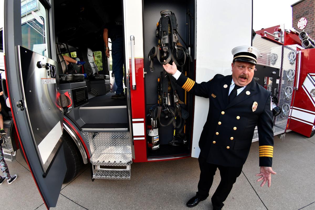 Silvis Fire Department new Pierce Enforcer Pumper