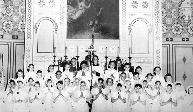 Iowa; Davenport; St. Mary's School reunion