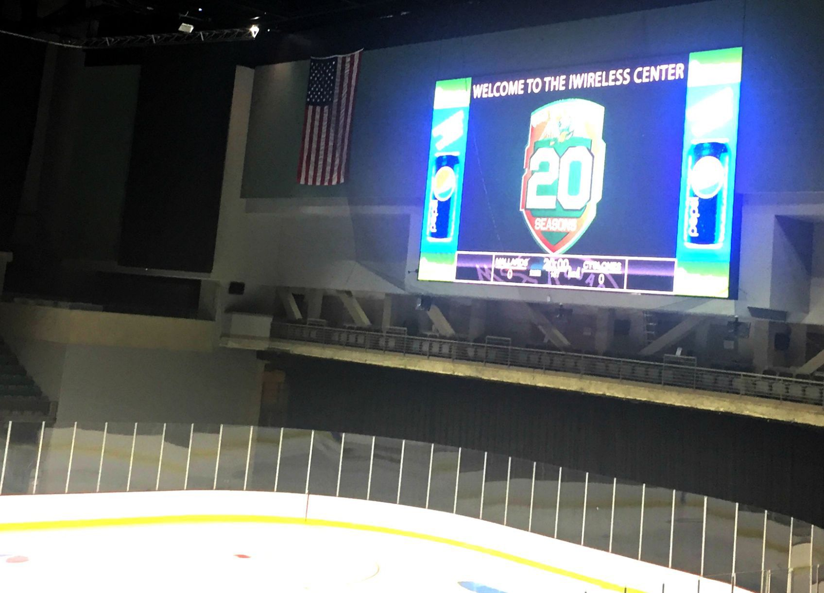 Iwireless Center Unveils Bigger And Flashier Led Video Wall Local Rh  Qctimes Com TD Garden Box Office Hours Oracle Arena Box Office Hours