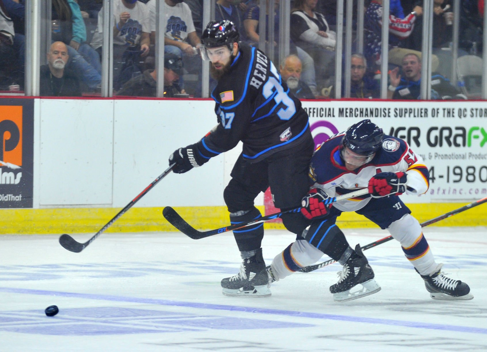 SPHL: Storm Win Opener In Overtime | Quad-City Storm Hockey