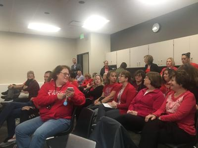 Red for Ed Bettendorf School Board