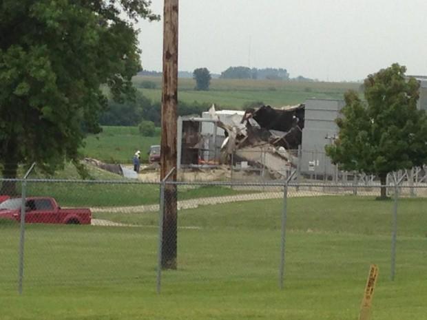 Cedar Falls explosion