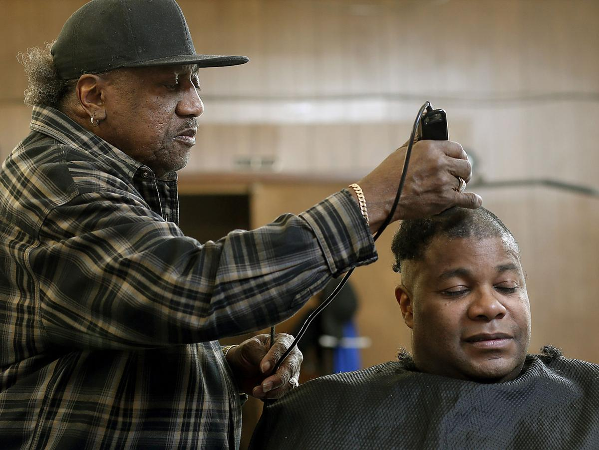 haircut davenport ia photos joe s barber shop celebrates 50 years news 3705