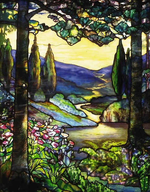 Tiffany window had 'panestaking' journey to Figge