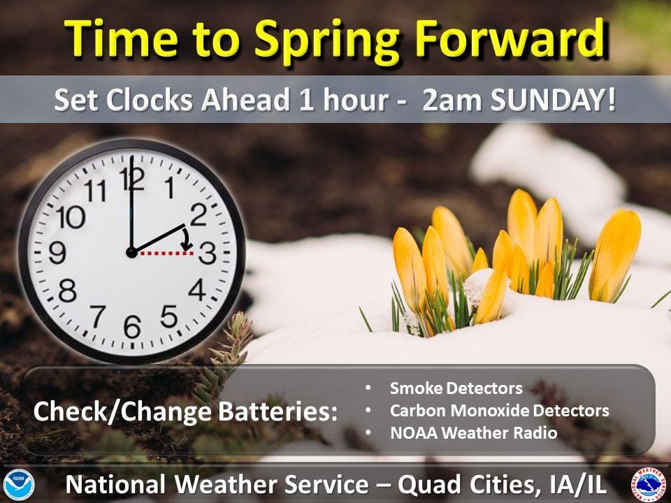 NWS: Daylight Saving Time