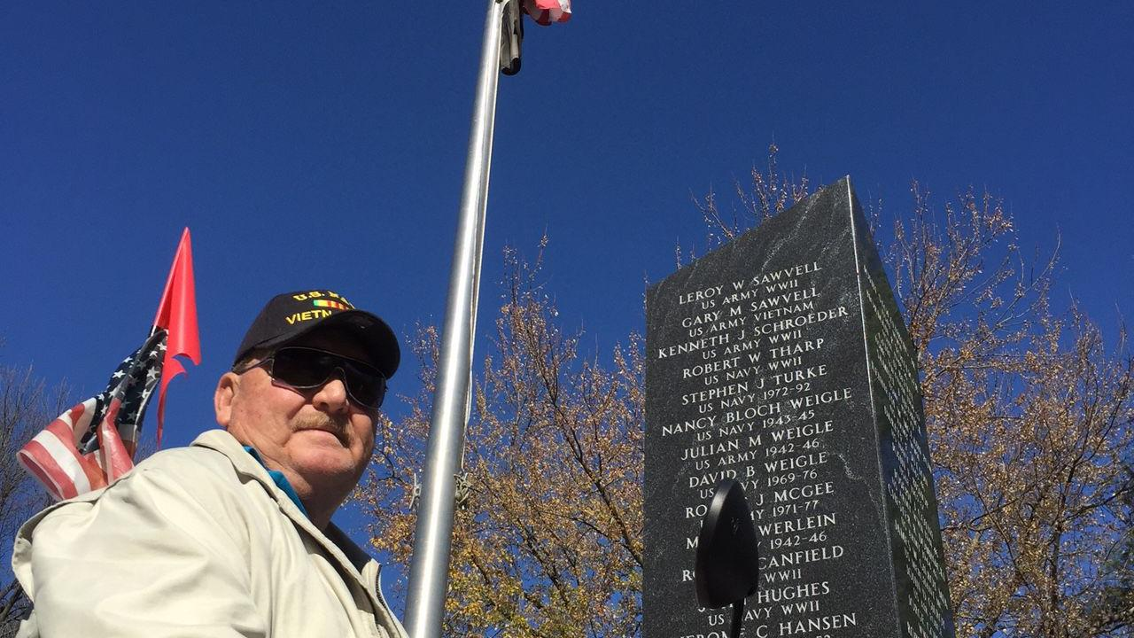 Tour of memorials honors local veterans