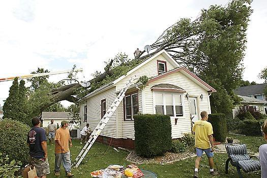 Rare 'derecho' leaves swath of damage across Iowa, Q-C region