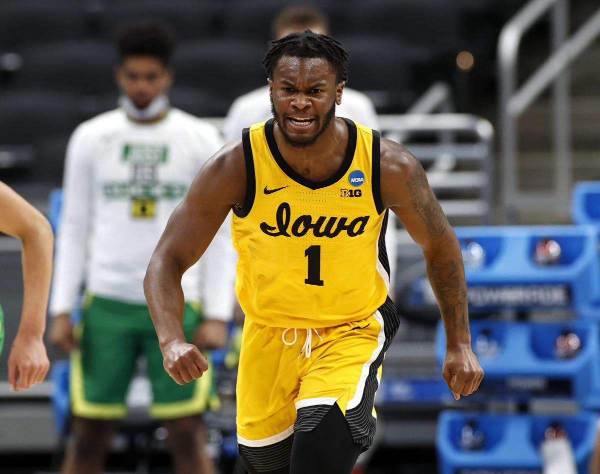 Iowa Men's Basketball vs Oregon NCAA Tourney