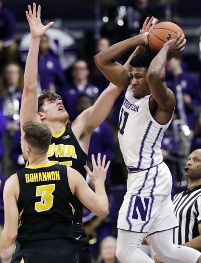 Iowa Northwestern Basketball
