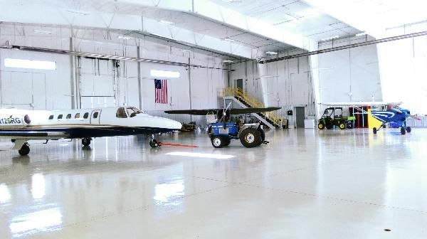clinton airport contributed