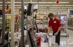 Self service checkouts replace cashiers at many Iowa stores