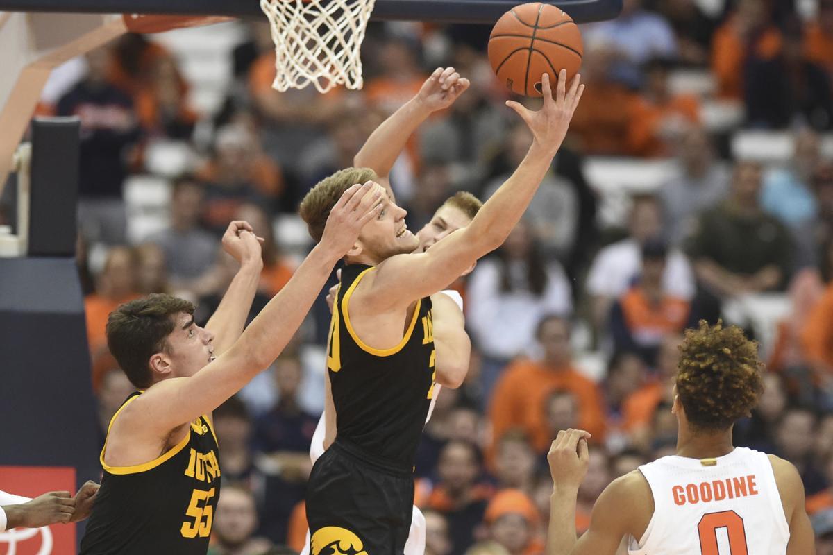 Iowa Syracuse Basketball