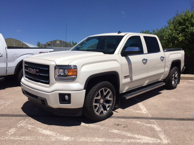 2014 white diamond tricoat gmc sierra 1500 trucks